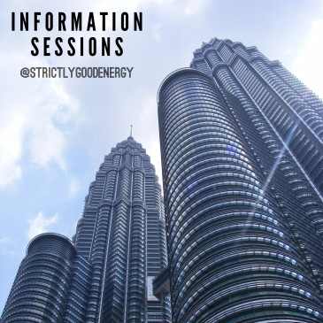 Memo 2 – Information Sessions